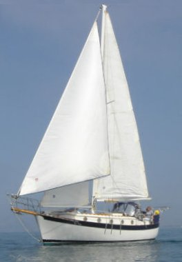 Willard 30 (Cutter) photo on sailboatdata.com