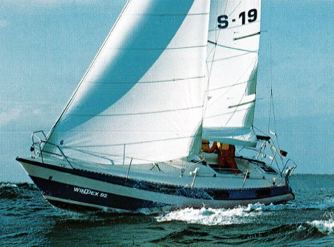 Windex 92 sailboat specifications and details on for Wine therapy boat sf