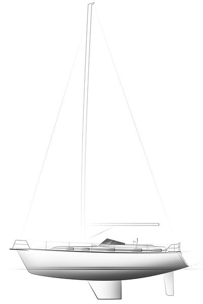 C-YACHT 1250 drawing