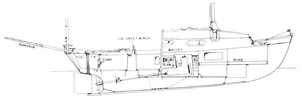 DRASCOMBE DRIFTER (HONNOR) drawing