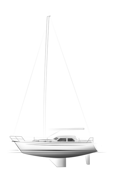C-YACHT 1130 DS drawing
